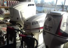 Evinrude 115 HO E-TEC G2 Langstaart