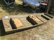 G3 1236 Aluminium Jon boat.